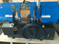 Double Column Metal Band Saw Machine