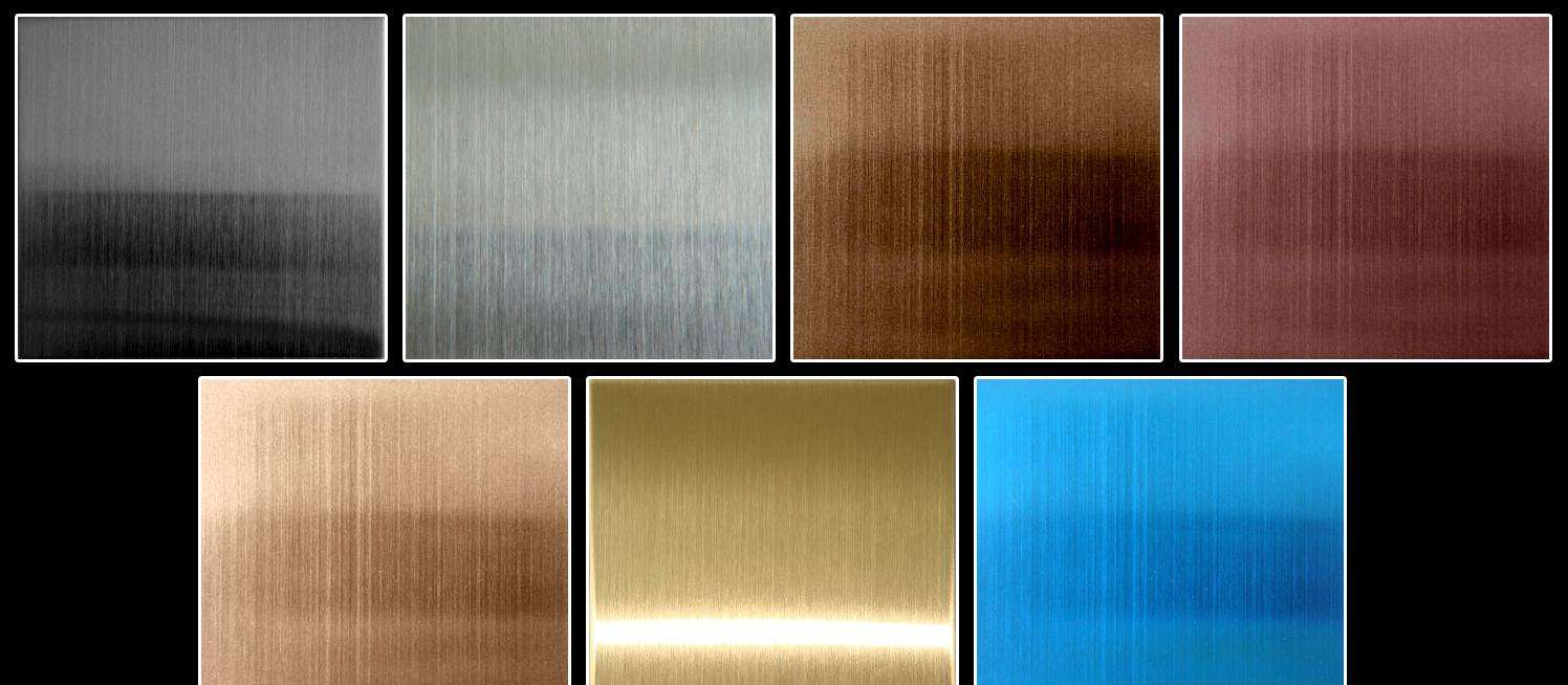 Stainless Steel Hairline Sheet