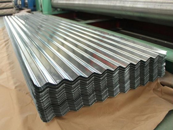 China Galvanized Corrugated Roof Sheet Supplier Shanghai