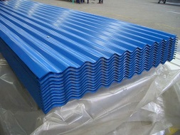 Prepainted Corrugated Galvanized/Galvalume Roofing Sheet